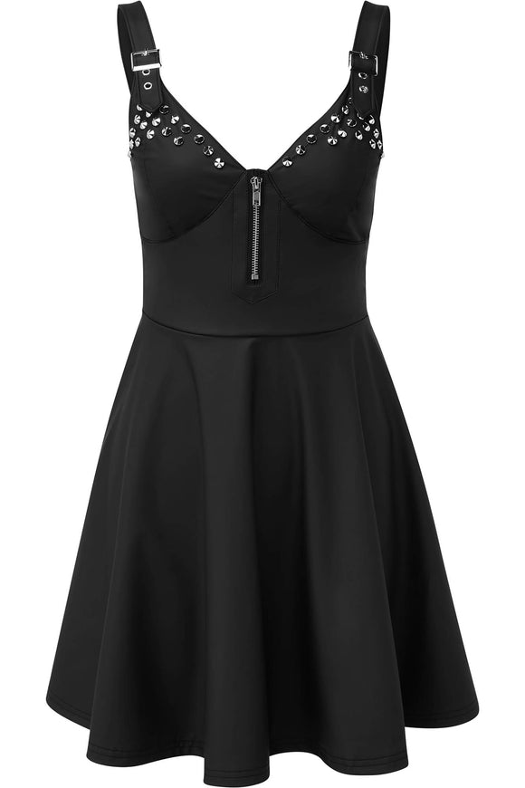 Studded Love u To Death Sun Dress