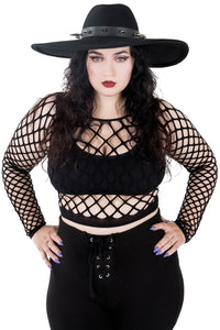 Nightshade Spiked Brim Hat