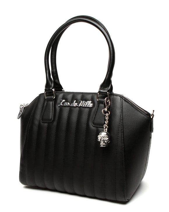 Lady Vamp Tote Matte Black - DeadRockers