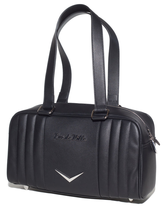 Small Carry All Tote Black Matte