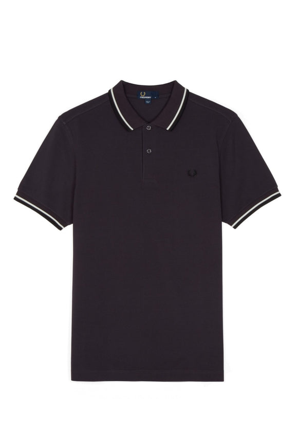 Fred Perry Polo Black Grape