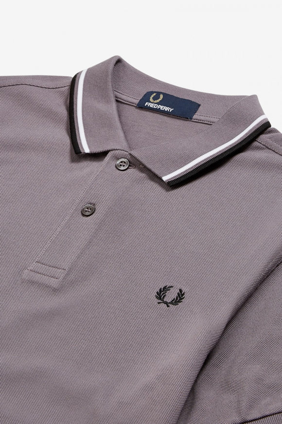 Fred Perry Polo Iced Slate / White / Black