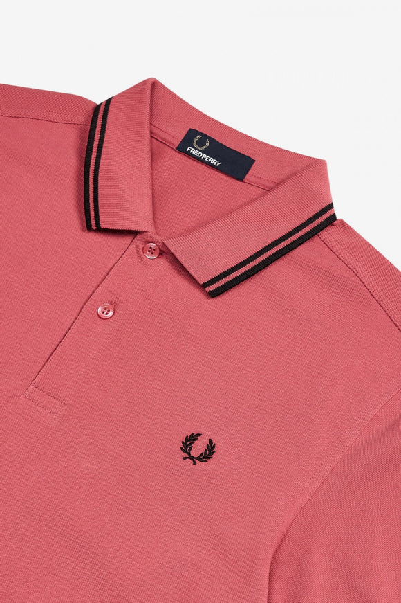 Fred Perry Polo Mauvewood / Black
