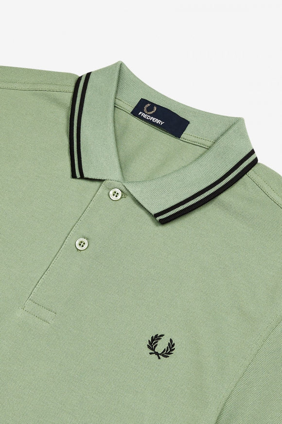 Fred Perry Polo Hedgerow / Black