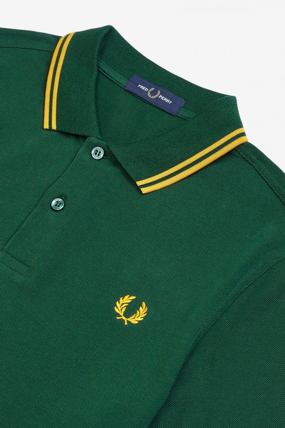 Fred Perry Polo Ivy Green / Gold / Gold