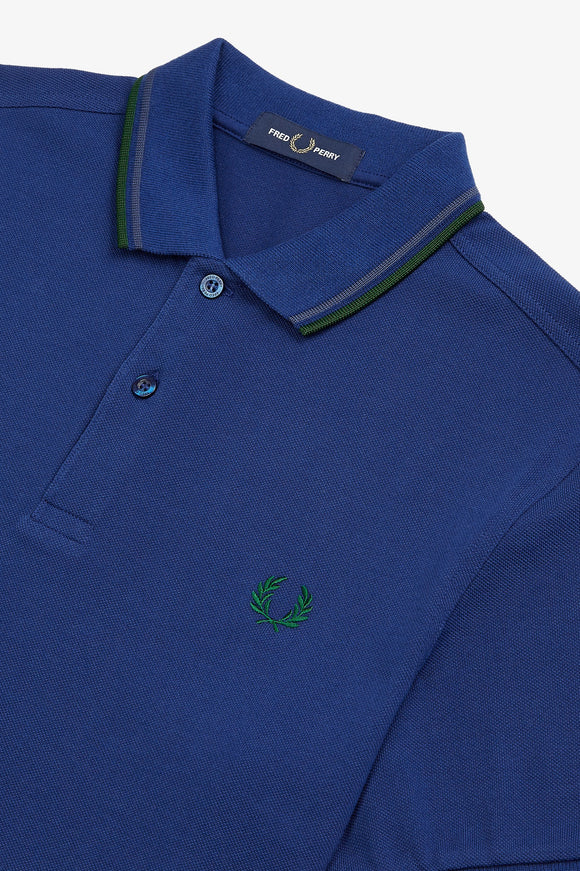 Fred Perry Polo Medieval Blue / Midnight Blue / Ivy