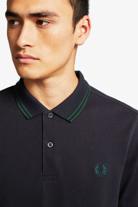 Fred Perry Polo Navy / Ivy / Ivy