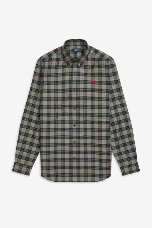 Fred Perry Tartan Long Sleeve