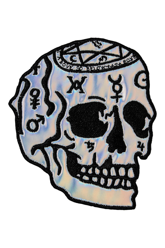 Magi Holographic Skull Patch
