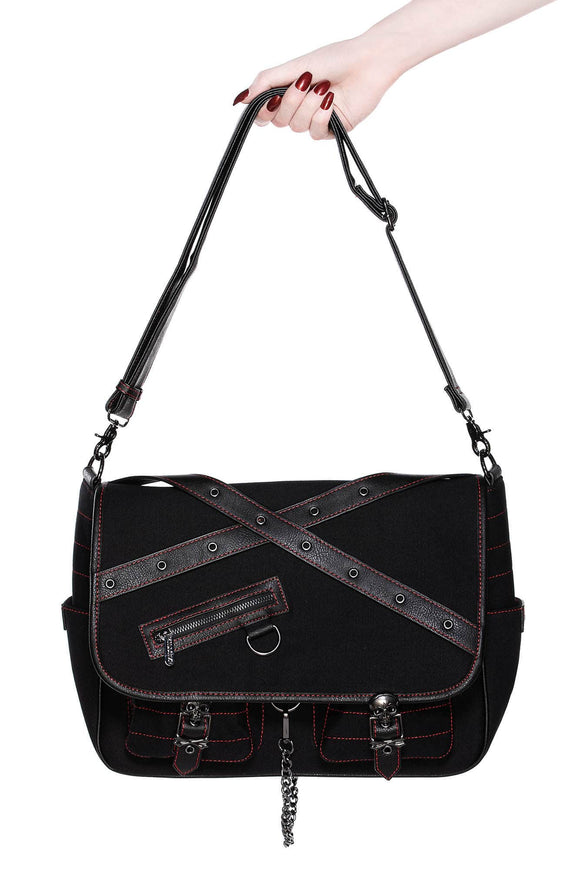 Matrix Black Messenger Bag