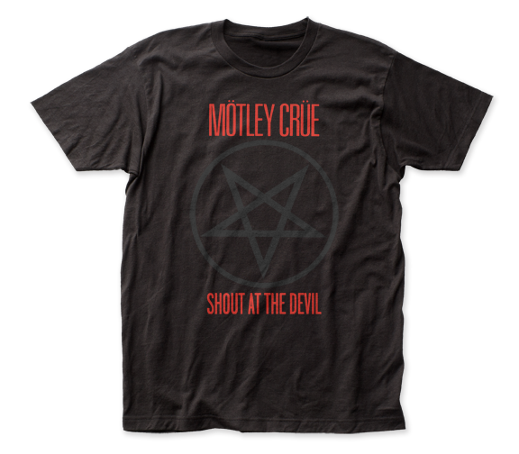 Motley Crue Shout At The Devil Band Shirt