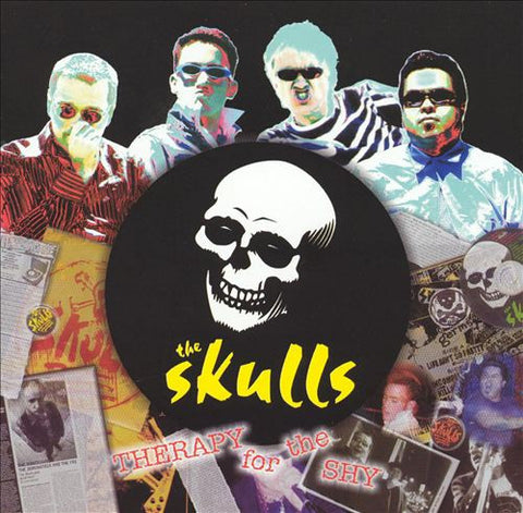 The Skulls - Therapy For the Shy CD - DeadRockers
