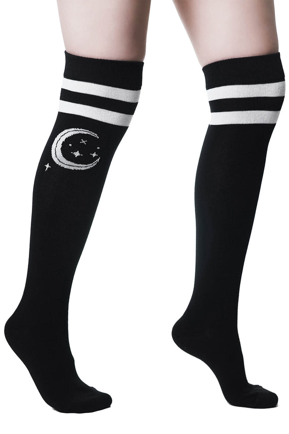 Moon Beam Long Socks
