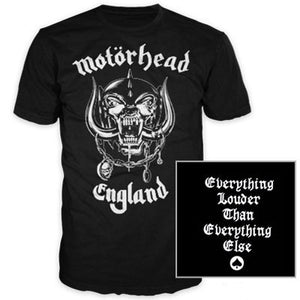 Motorhead Everything Louder Band Tee