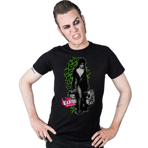 Elvira Leo Luggage Men's T-Shirt