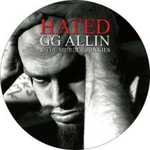 GG Allin & The Murder Junkies ‎- Hated (Picture Disc) LP +DVD