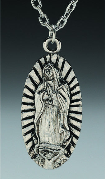 Virgin Mary Pendant - DeadRockers