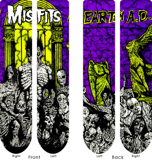 Misfits Earth AD Socks