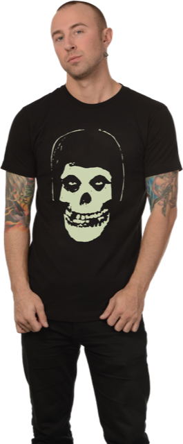 Misfits Fiend Skull Glow in the Dark Shirt