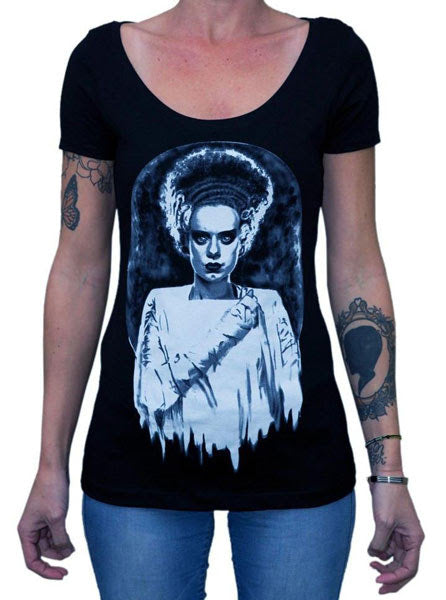 Monster's Bride Scoop Neck Tee