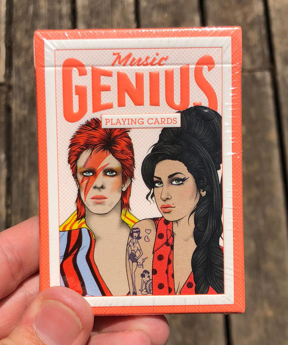 Musical Genius Playing Cards
