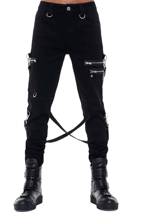 Night Terror Black Pants