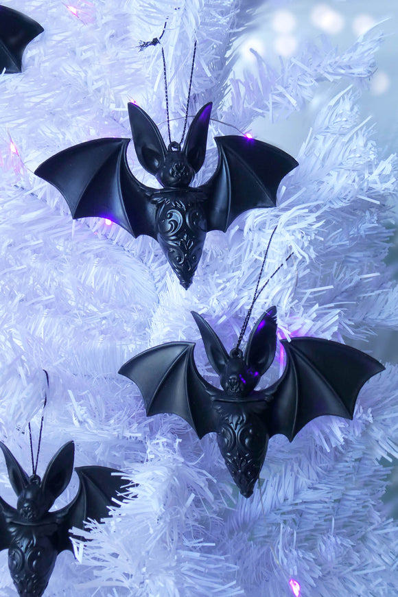 Noctem Bat Baubles Ornaments