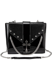 Nona Gothix Cross Handbag