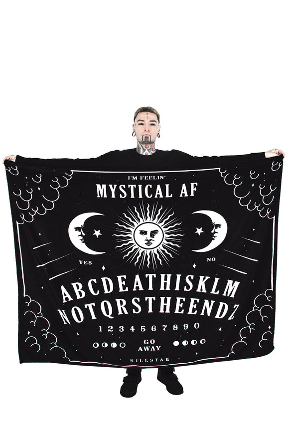 Ouija Not the End Blanket