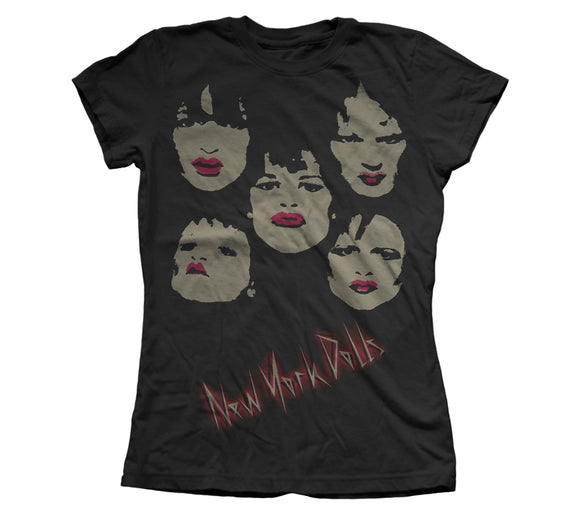 New York Dolls Faces Shirt