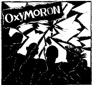 Oxymoron 'Band Pic' Patch
