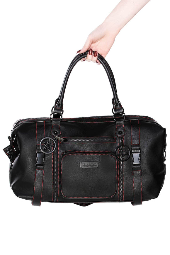 Ozul Black Duffle Bag