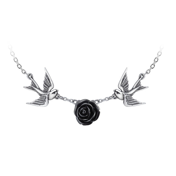Sparrows & Rose Love Returns Pendant
