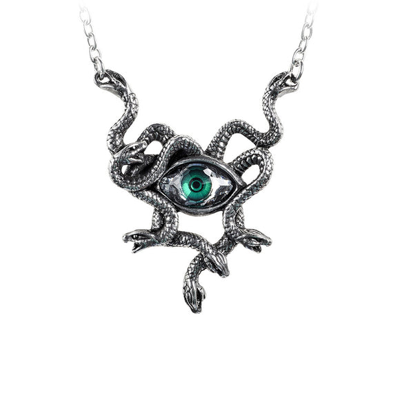 Medusa Gorgon's Eye Necklace