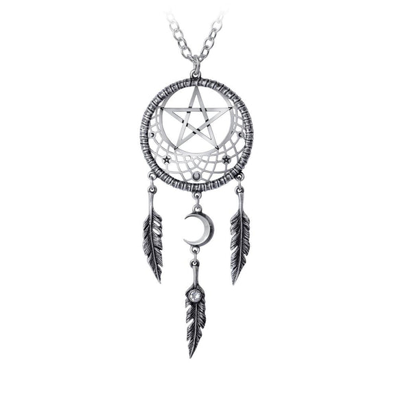 Pagan Dream Catcher Necklace