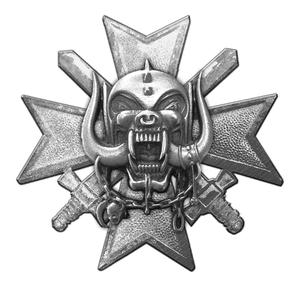 Motorhead Bad Magic Metal Pin