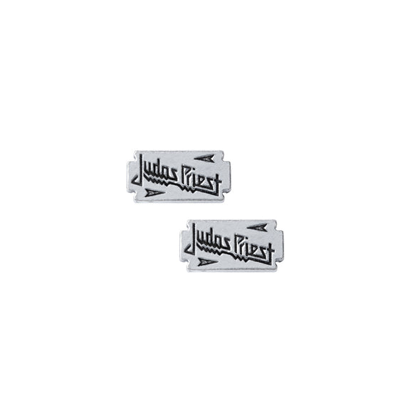 Judas Priest Razor Blade Stud Earrings