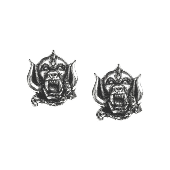 Motorhead Warpig Stud Earrings