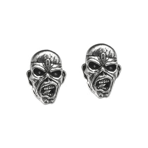 Iron Maiden Piece of Mind Stud Earrings