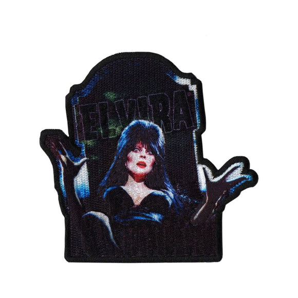 Elvira Dug Up Patch - DeadRockers