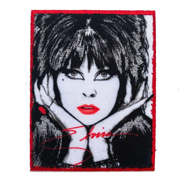 Elvira 80s Signature Patch
