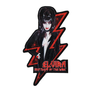 Elvira Red Bolt Patch - DeadRockers