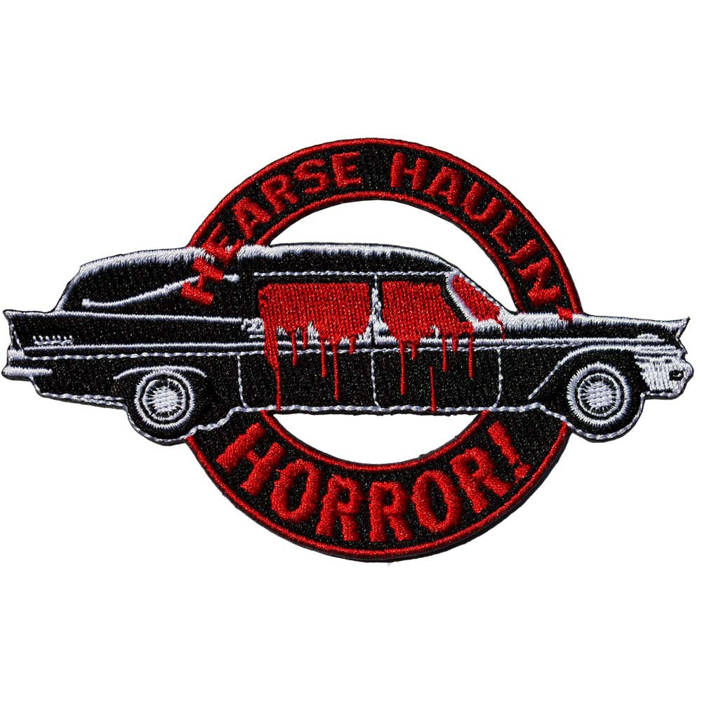 Hearse Haulin Horror Patch - DeadRockers