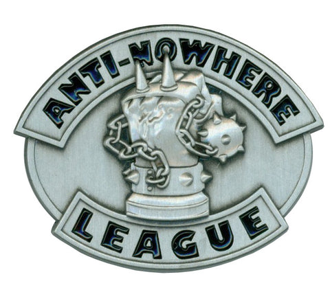 Anti-Nowhere League Metal Pin