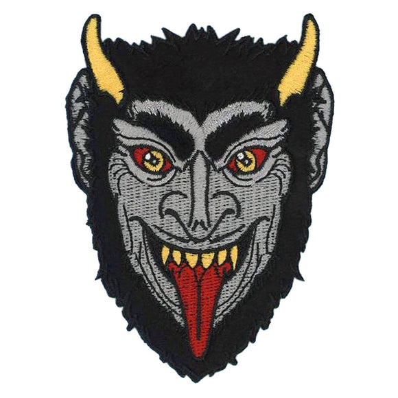 Krampus Face Patch
