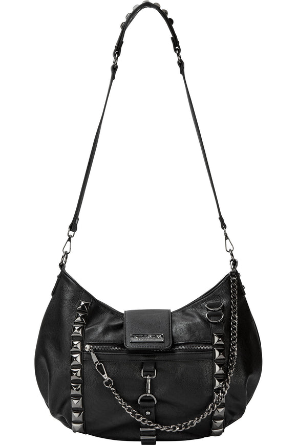 Plectrum Studded Handbag