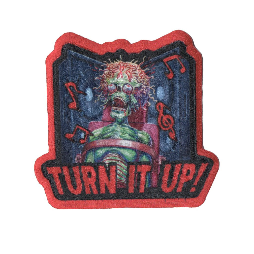 Mars Attacks Turn it Up Patch - DeadRockers