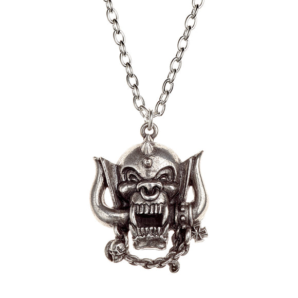 Motorhead Warpig Necklace