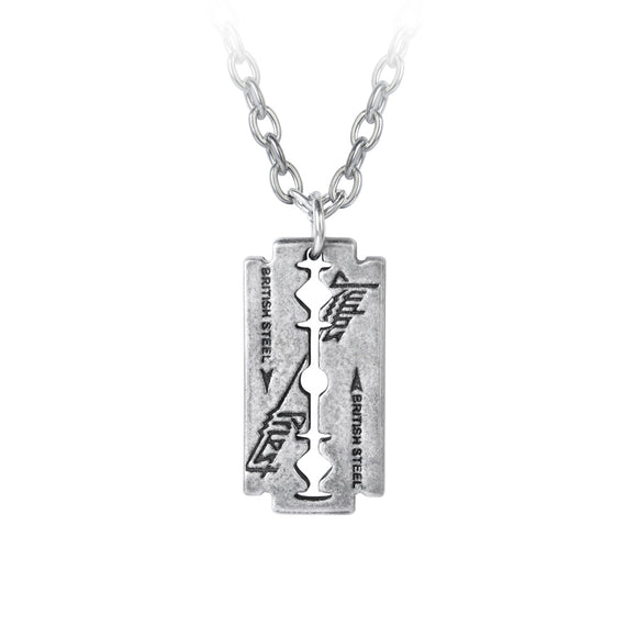 Judas Priest Razorblade Necklace