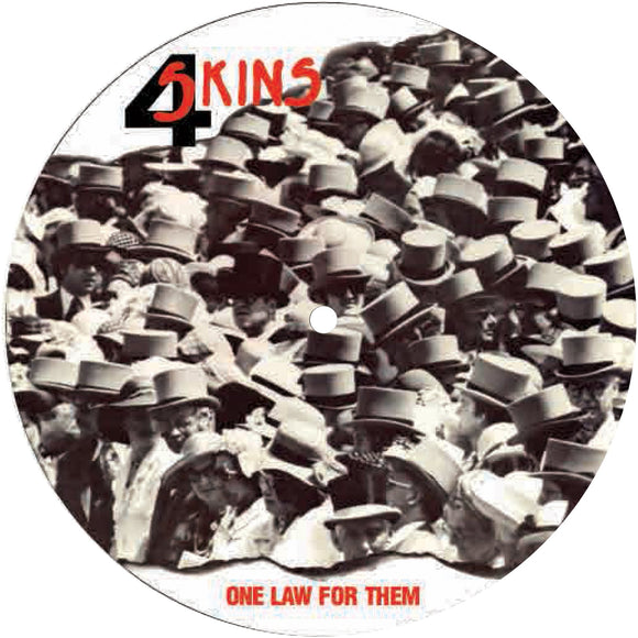 4 Skins - One Law For Them Picture Disc 7